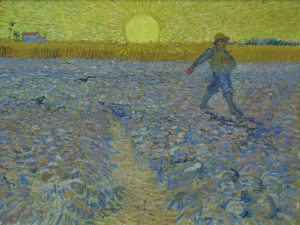 """The Sower"" Van Gogh"