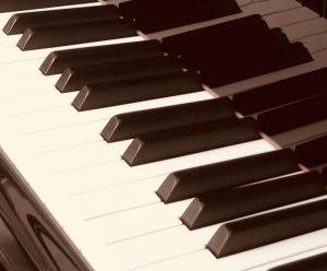 Keyboard sepia